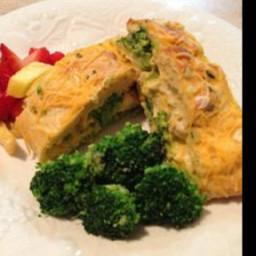 Chicken & Broccoli Braid