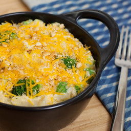 Chicken, Broccoli, Cheese & Rice Casserole