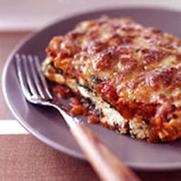 Chicken-Cheese Spinach Lasagna