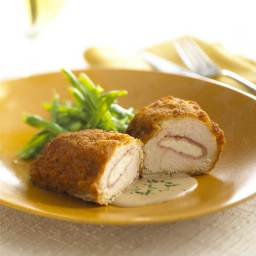 Chicken Cordon Bleu with Fresh Goat Cheese