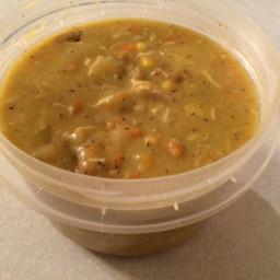 Chicken Corn Chowder (dairy free, gluten free)