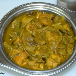 Chicken Curry with Curry Leaves