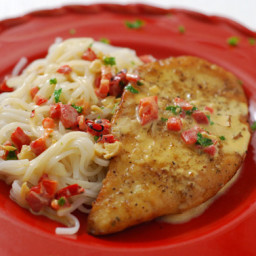 Chicken Cutlets with Sherry Cream Sauce