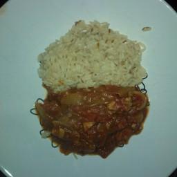 Chicken Dopiazza (Indian Chicken Curry)