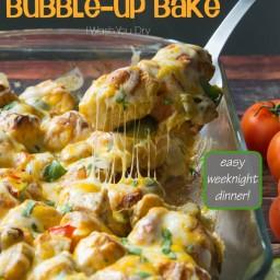 Chicken Fajita Bubble – Up Bake