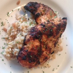 Possibly the Best Grilled Chicken Ever Chicken!