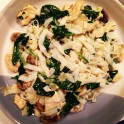 Chicken Florentine Pasta Swap (Hungry Girl)
