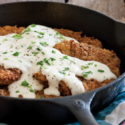 Chicken-Fried Steak with Milk Gravy Recipe