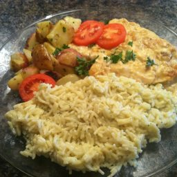 Chicken in Creamy Pan Sauce