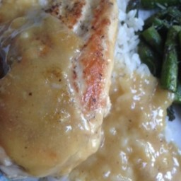 Chicken in Honey Mustard Beer Sauce