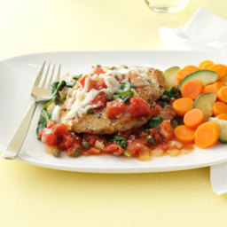 Chicken in Tomato-Caper Sauce Recipe