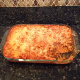 Chicken Lasagna Bake