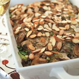 Chicken, Mushroom and Wild Rice Casserole