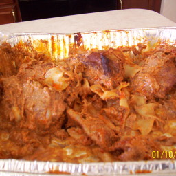 Chicken Paprikash