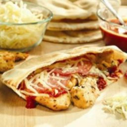 Chicken Parmesan Pita Pockets
