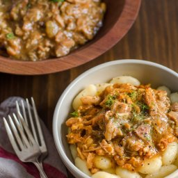 Chicken Ragù with Bacon and Fennel