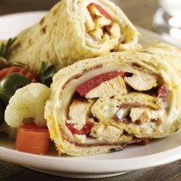 Chicken Saltimbocca Wrap