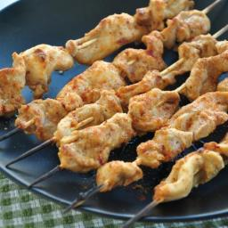 Chicken Satay W/Peanut-Coconut Sauce