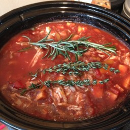 Chicken Stew (Slow Cooker) Paleo