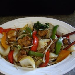 Chicken Stir Fry for Ginger Lovers