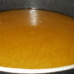 Chicken Stock in a Crockpot