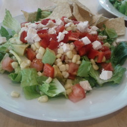 Chicken Taco Salad with Lime-Cilantro Vinaigrette