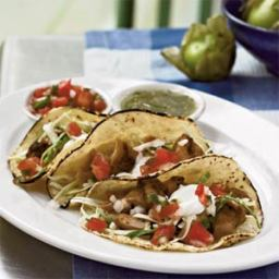 Chicken Tacos with Chipotle Salw