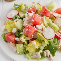 Chicken Watermelon Salad