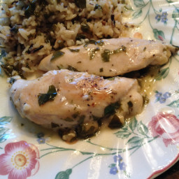 Chicken with Lemon-Basil Sauce