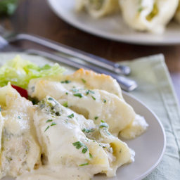 Chicken and Broccoli Stuffed Shells