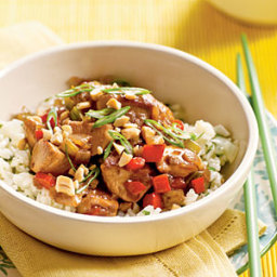Chicken and Cashews