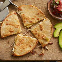 Chicken, Chili, and Cheese Quesadillas