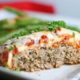 Chicken Parmesan Meatloaf