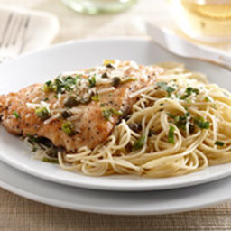 Chicken Piccata with Angel Hair