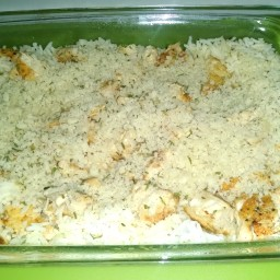 Chicken Rice Bake