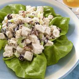 Chicken Salad with Pecans  and  Dried Cherries