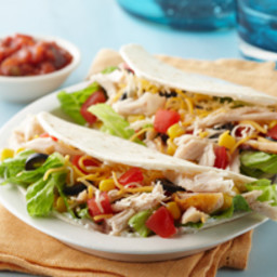 Chicken Taco Salad Foldovers
