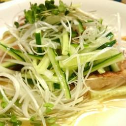 Chicken thigh with Shio Ponzu Sauce