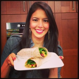 Chickpea Curry Wraps