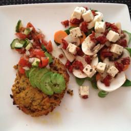 Chickpea, Lentil and Sweet Potato Patties