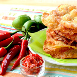 Chile Lime Mexican Bunuelos