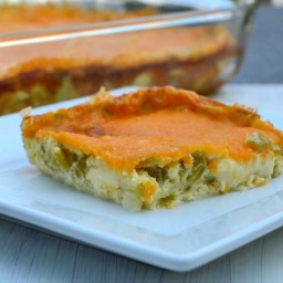 Chile Relleno Breakfast Casserole