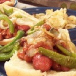 Chili Hot Dogs