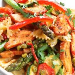 Chilled Chicken and Vegetable Pasta