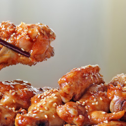 Chilli Seasame Chicken Wings
