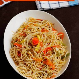 Chilly Garlic Noodle Recipe