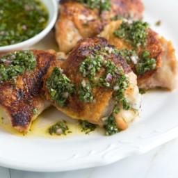 Chimichurri Chicken Thighs Recipe