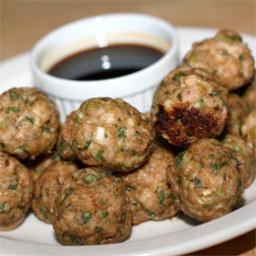 Chine Style Turkey Meatballs