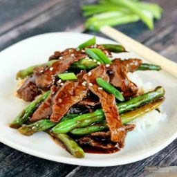 Chinese Beef and Green Beans