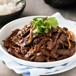 Chinese Beef with Honey and Black Pepper Sauce